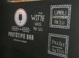 Protótipo Bar