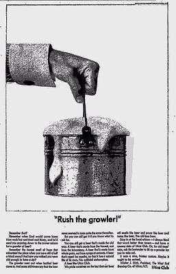 Este era o modelo original dos growlers