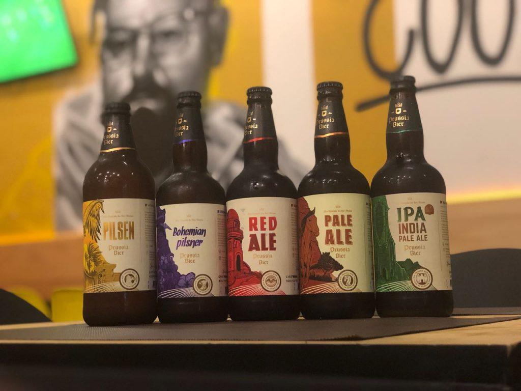As cervejas do portfólio