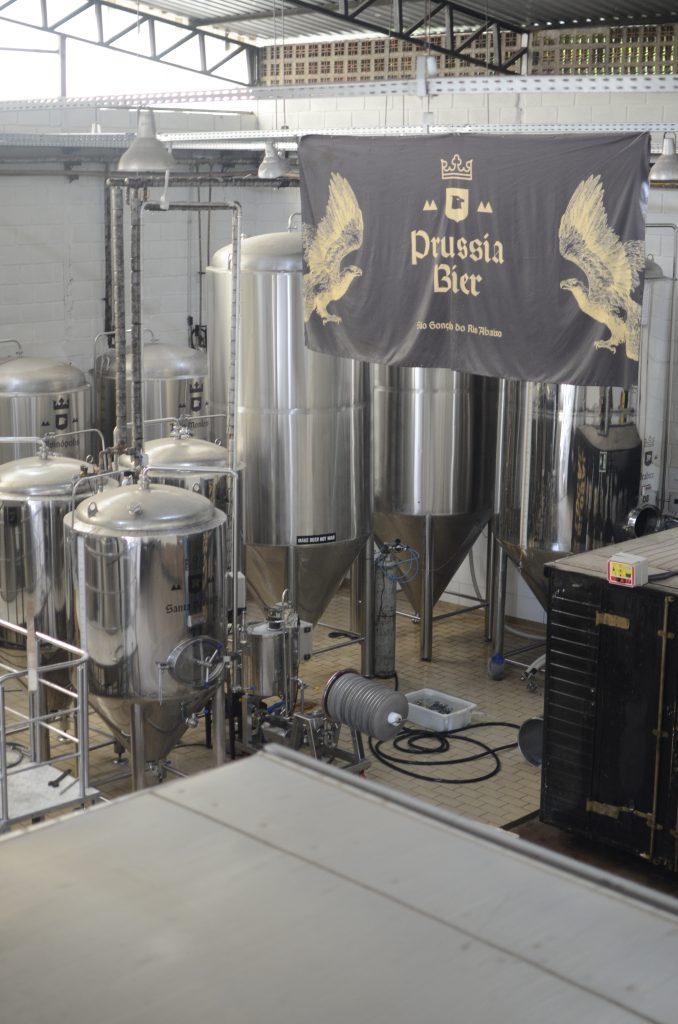Fábrica Prússia Bier em São Gonçalo do Rio Abaixo