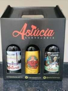 O kit de cerveja Astúcia deve ser comprado diretamente com o produtor
