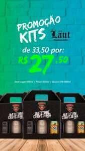 O Kit Laut está com preço promocional