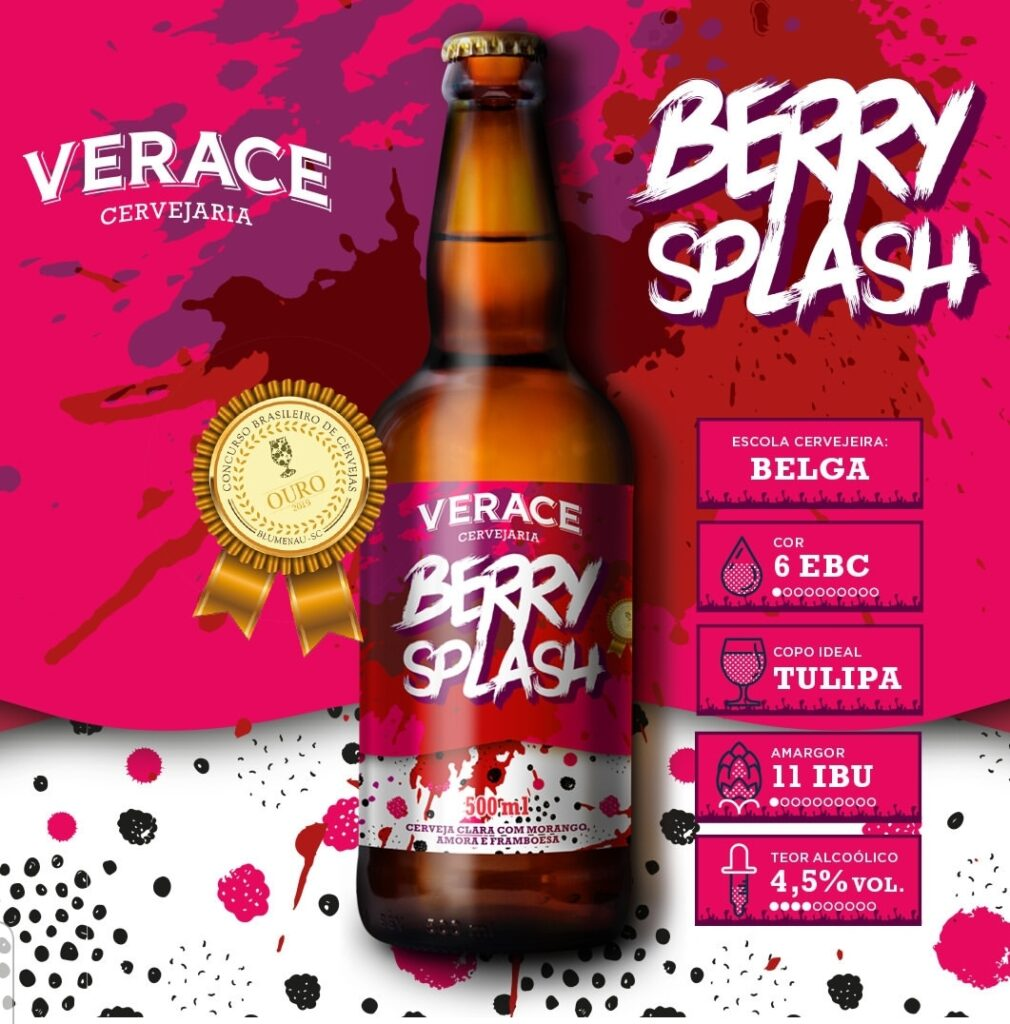 Berry Splash é mais uma das noviddades cervejeiras de 2019