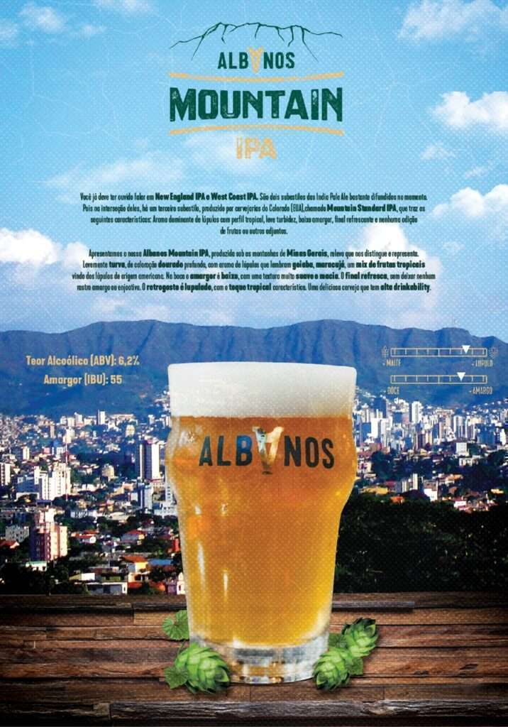 Mountain IPA Albanos ganha medalha de bronze, dentro da categoria Hazy IPA, na Copa Tayrona da Colômbia