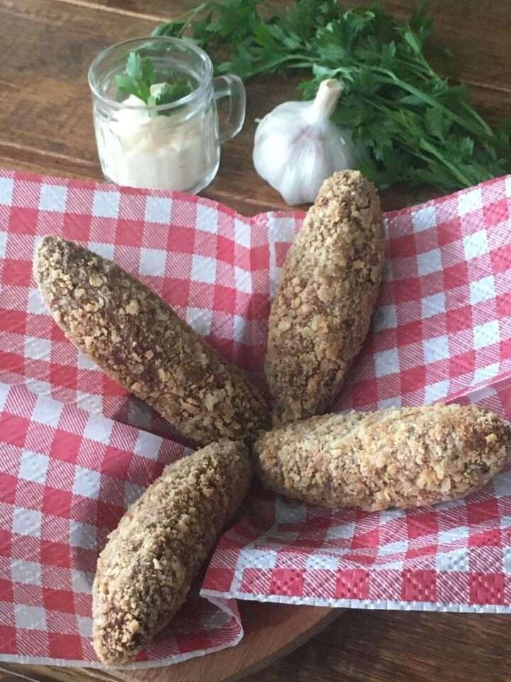 Outro petisco delicioso da Casa Ávila - bolinhos de carne de pescoço de avestruz, criação do Chef Juliano Caldeira
