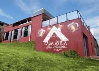 Da Via 710 se avista a Casa Ávila