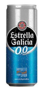 A espanhola Estrella Galícia também aposta nas cervejas sem álcool