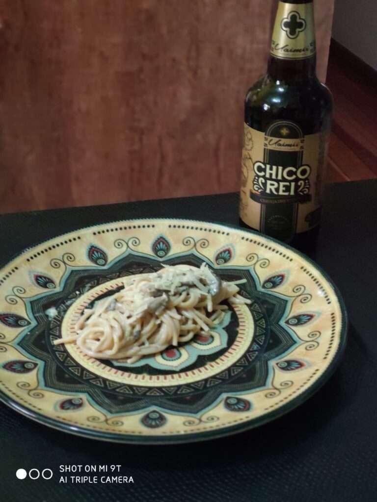O  jantar harmonizado com cerveja sugerido casa massa com stout. Fica perfeito!