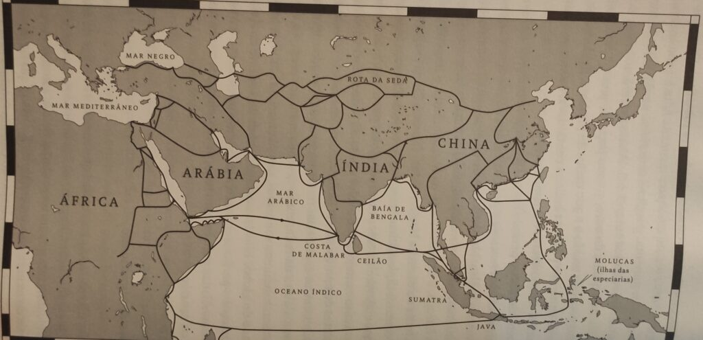 Especiarias foram objeto para estabelecimento de rotas comerciais
