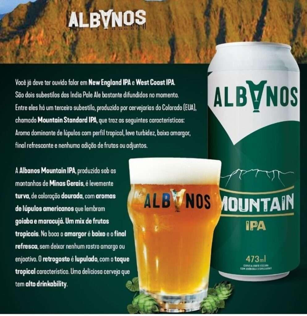 Albanos coloca em lata um de seus lançamentos cervejeiros do ano