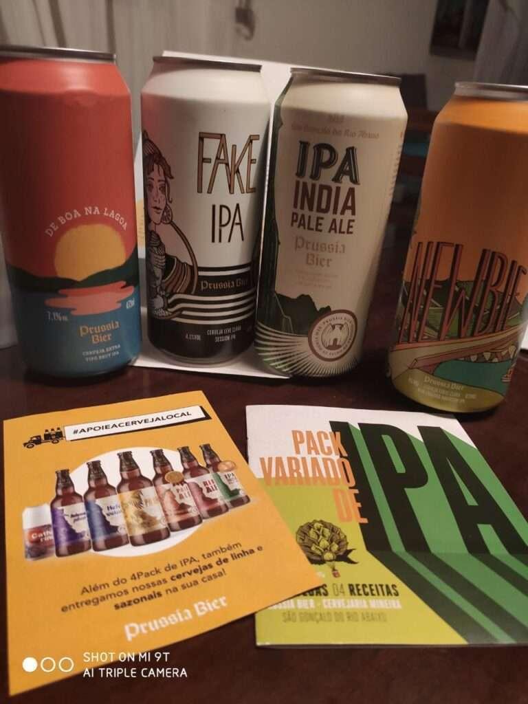 Além das cervejas, o lançamento cervejeiro da Prússia traz um livro de receitas para serem feitas e harmonizadas pelo consumidor