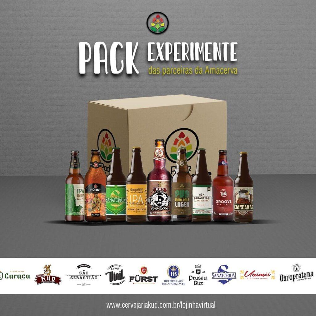 Amacerva aposta em kit de cervejas  lupuladas reunindo 9 rótulos diferentes