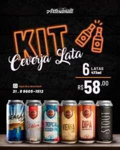 Com seis cervejas especiais para as mães, o Kit Artesamalt tem custo excelente!