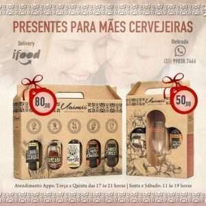 Uaimii preparou dois tipos de kits para as mães cervejeiras