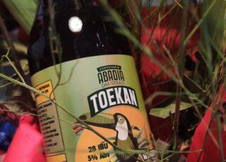 A nova witbier mineira chama-se Toekan