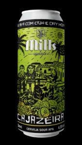 Falando em cerveja Sour, chega ao mercado a cerveja Cajazeira, da MIlls Brewery