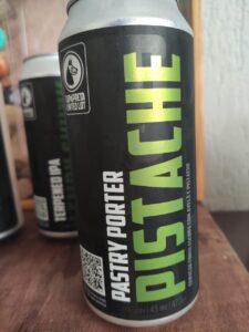 E a Pistache, terceira cerveja da linha Limited Lot., uma reedição do rótulo