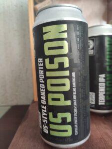 US Poison é a segunda cerveja da série Limited Lot. na primeira edição