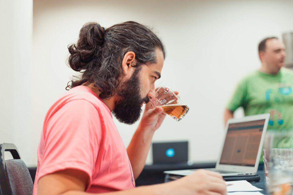 BAP em utilização durante concurso cervejeiro