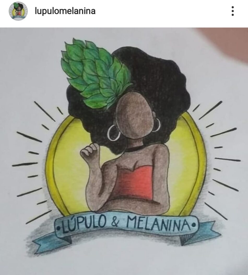 Perfil Lúpulo & Melanina no Instagram