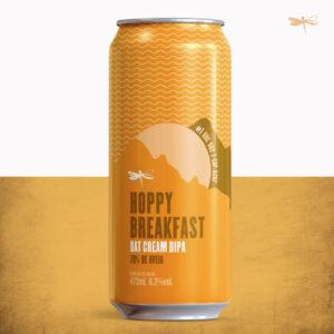 Outra novidade bacana de nossa lista foi a Hoppy Breakfast, que leva 70% de aveia na receita