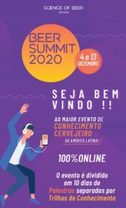 Beer Summit, o maior congresso técnico-cervejeiro da América Latina abre 2o lote de inscrições