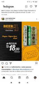 Black Friday na Mamãe Bebidas dá 49% de descontos