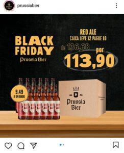 Black Friday da Prússia com várias promoções nas caixas de cervejas