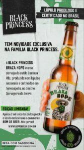 Cerveja Braza Hops, do grupo Petrópolis, utiliza lúpulo certificado no Brasil