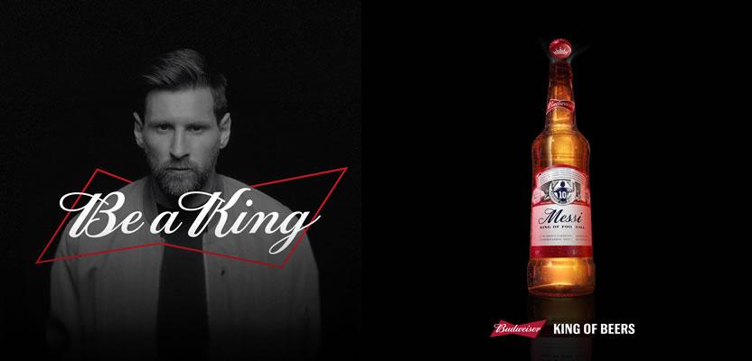 Budweiser lança a cerveja de Lionel Messi