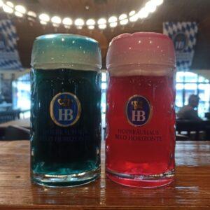 A cerveja-revelação foi tingida em segredo pelo mestre-cervejeiro e só durante a cerimônia do Keg Tapping os convidados ficaram sabendo qual era a cor.