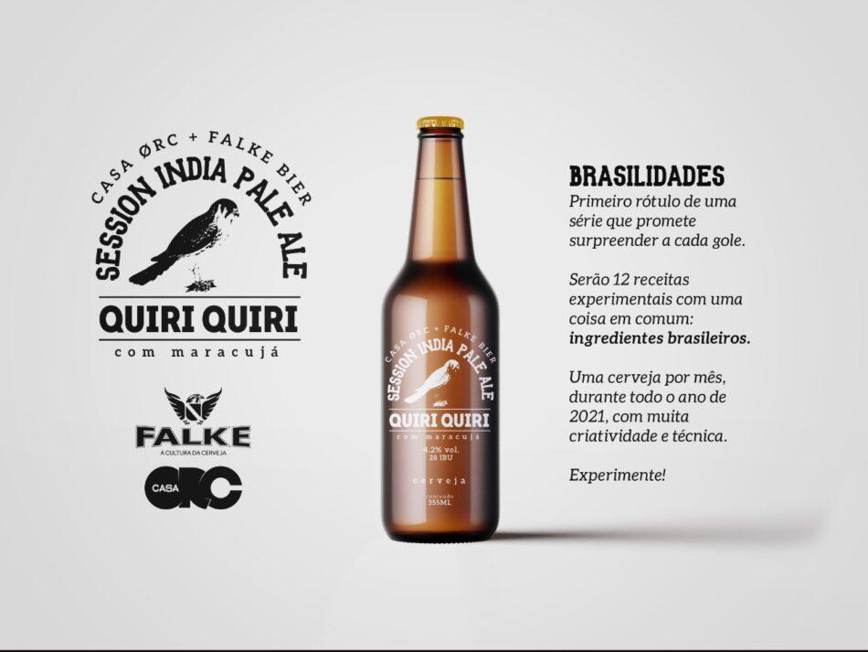 Quiri Quiri a 1a cerveja colaborativa Casa Orc e Falke Bier