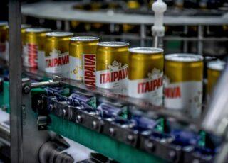 Linha de latas Grupo Petrópolis