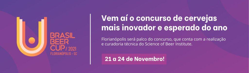 Brasil Beer Cup será realizado em Florianópolis, no mês de novembro