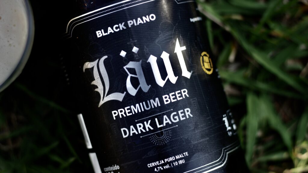 Cerveja à base de maltes torrados  da Laut é uma excelente companhia para chocolates ao leite