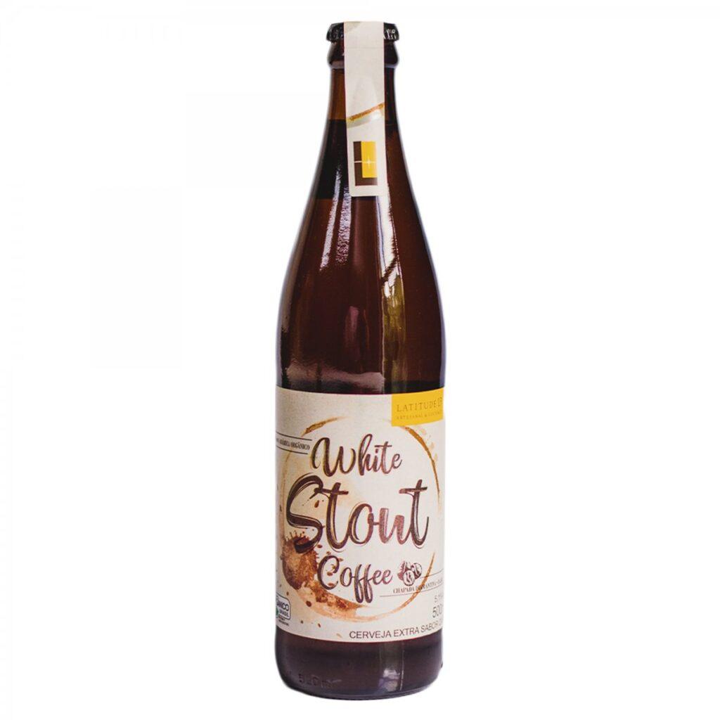 White Stout Coffee da Steinhaus é uma cerveja 100% orgânica