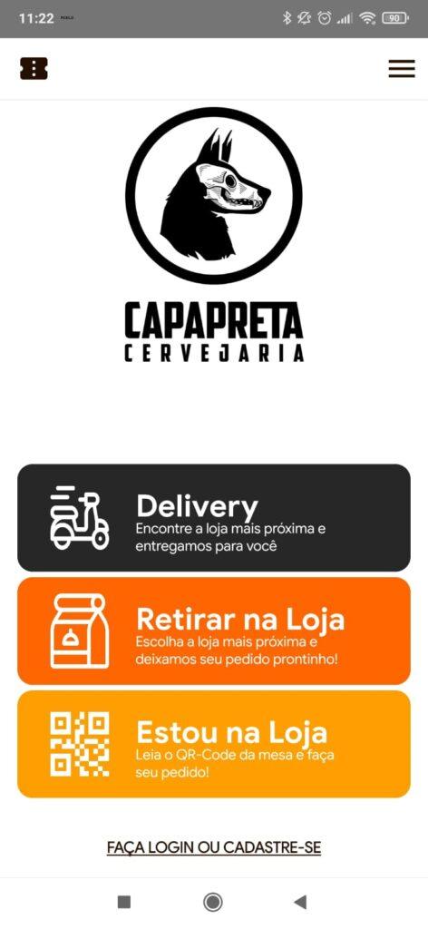 O app Capa Preta está disponível para IOS e Apple