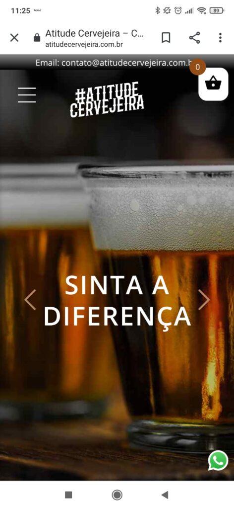 Laut lança site próprio de vendas chamado Atitude Cervejeira