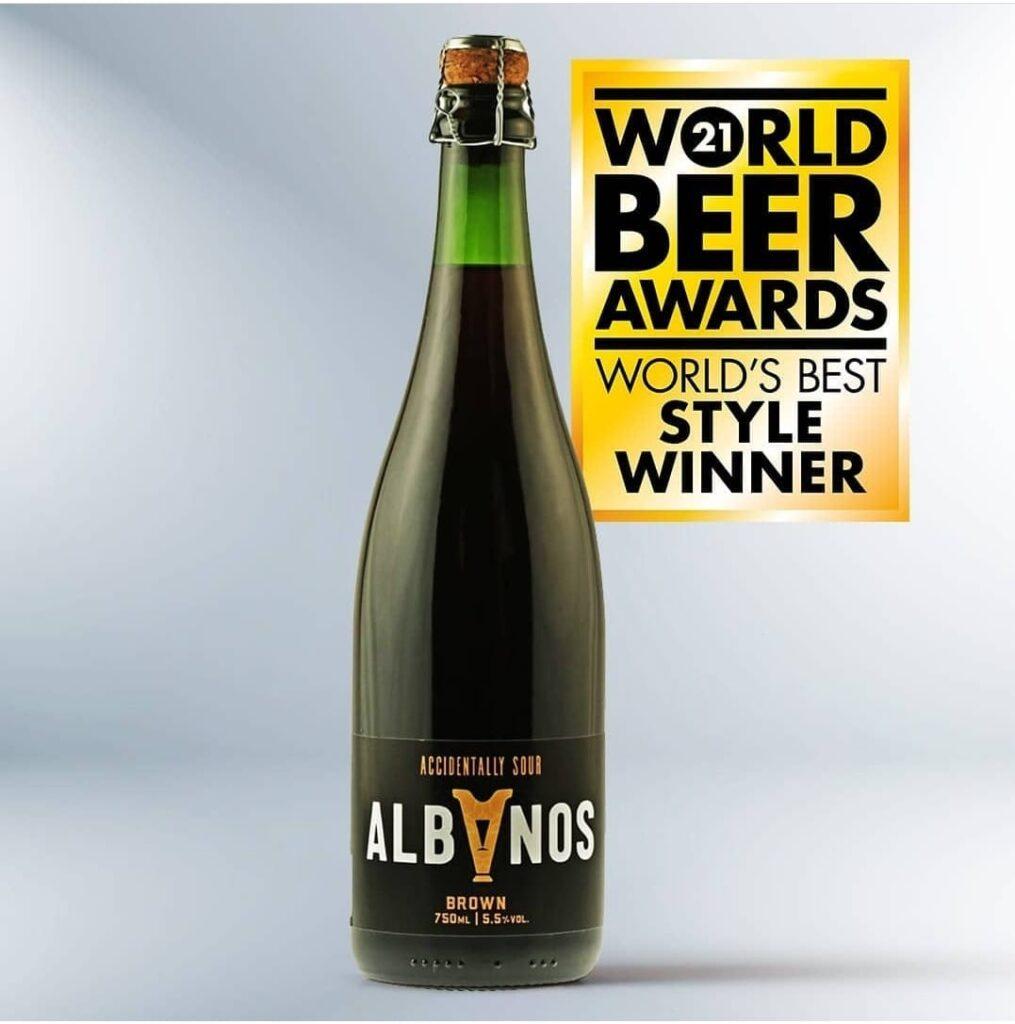 Oud Bruin Accidentally Sour Brown Albanos é premiada antes de chegar ao mercado