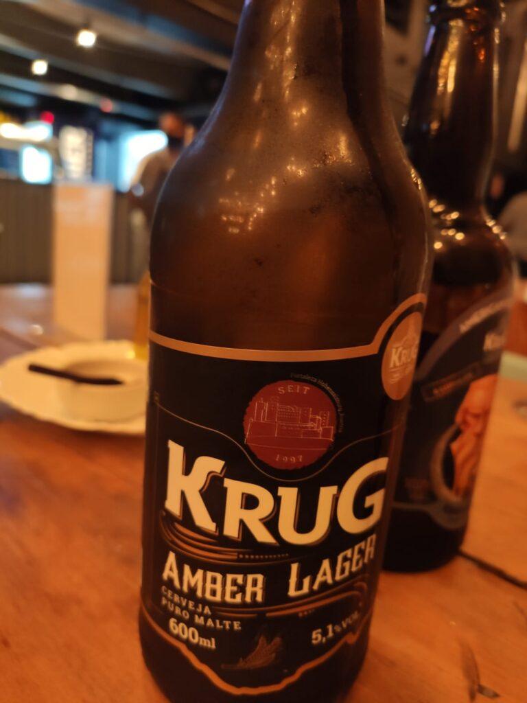 Amber Lager - o lançamento Krug